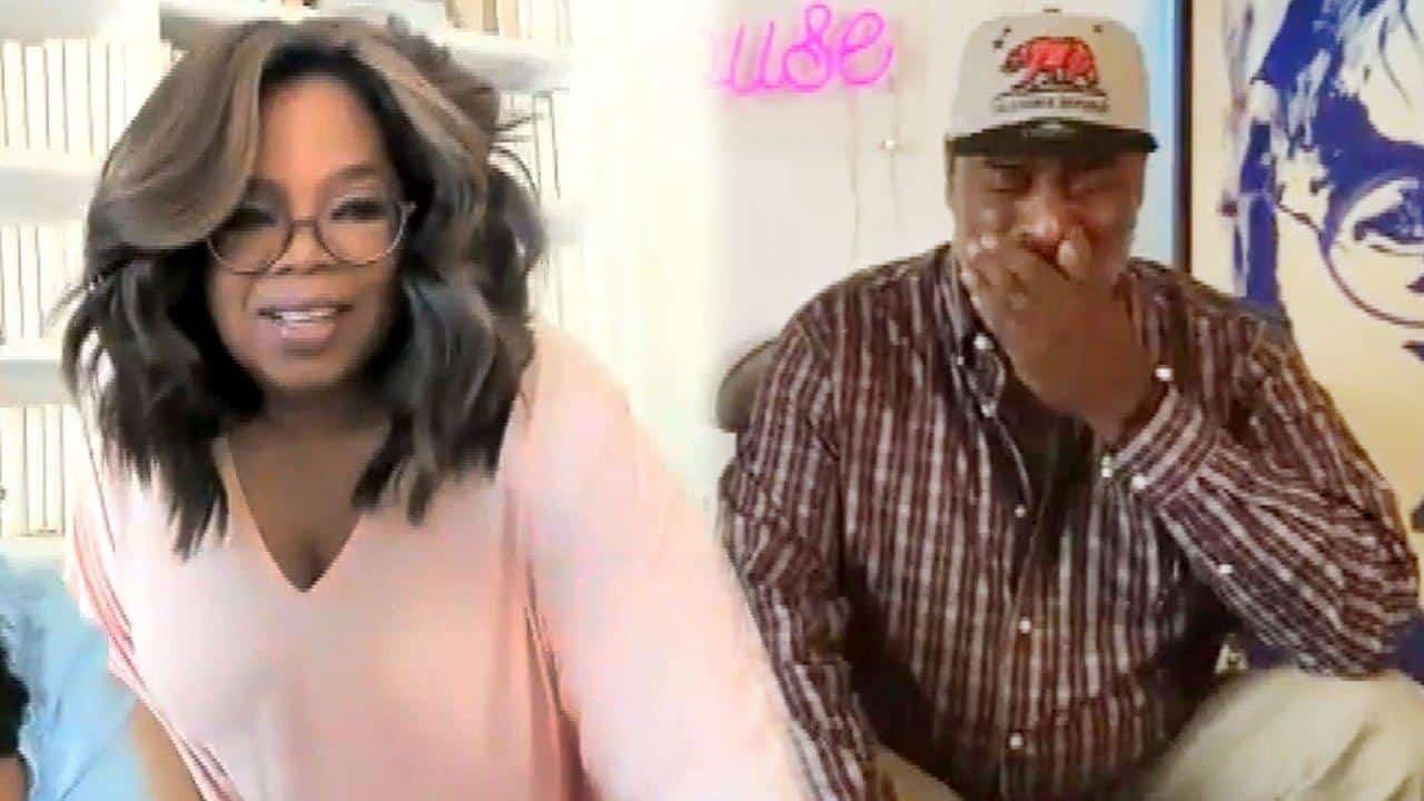 oprah surprises richard hutchins