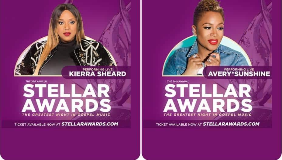 2021 Stellar Awards - Kierra Sheard - AverySunshine