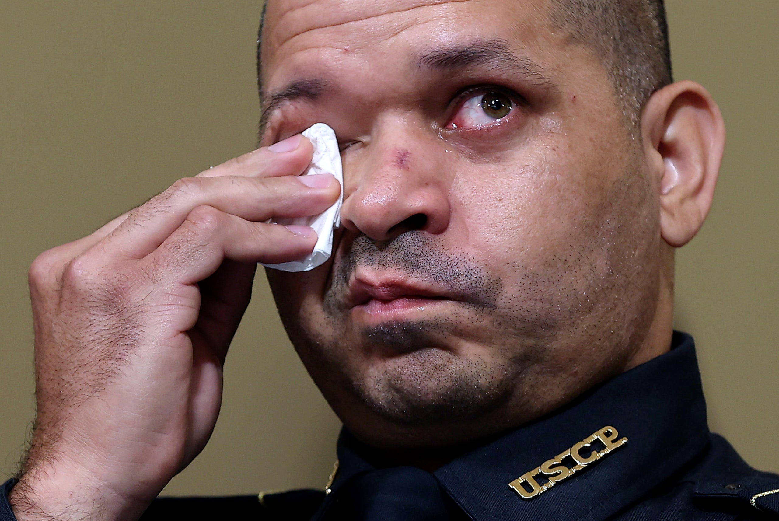 U.S. Capitol Police officer Sgt. Aquilino Gonell