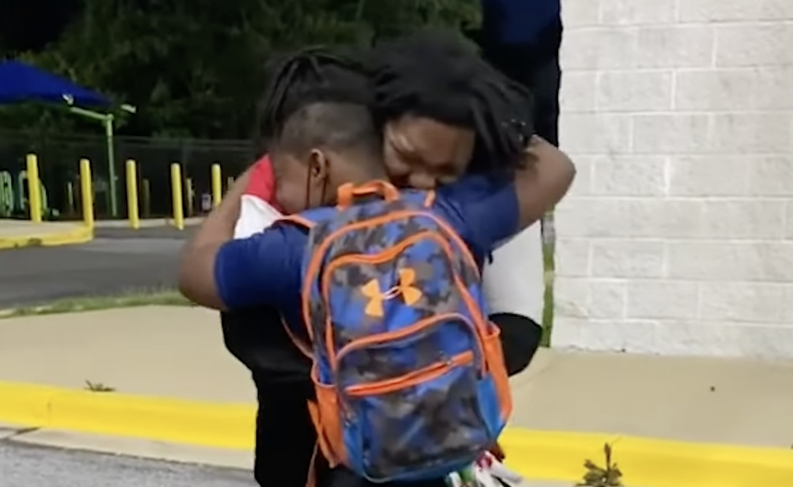 WATCH: Maryland Father Has Tearful Reunion With 12-Year-Old Son After Being Released from Jail
