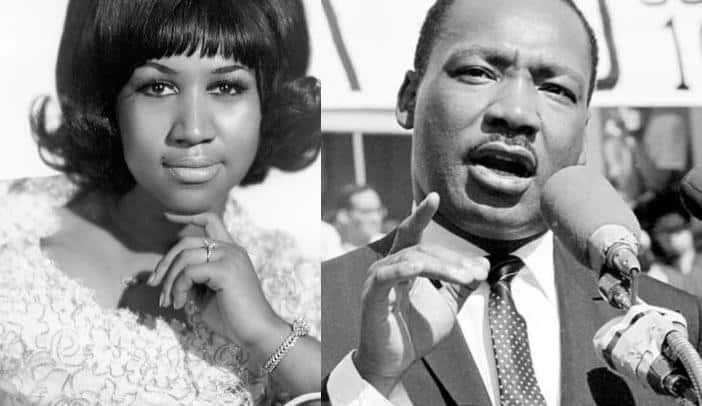 Aretha Franklin - Martin Luther King Jr