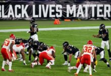BLM sign at NFL game - GettyImages1277253797MLDCjpg