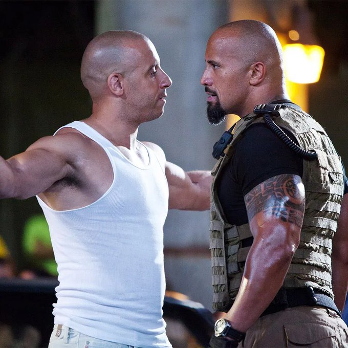 Diesel and The Rock