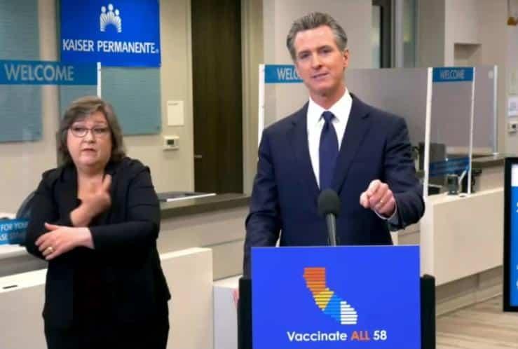 Gavin Newsom (on vaccines)