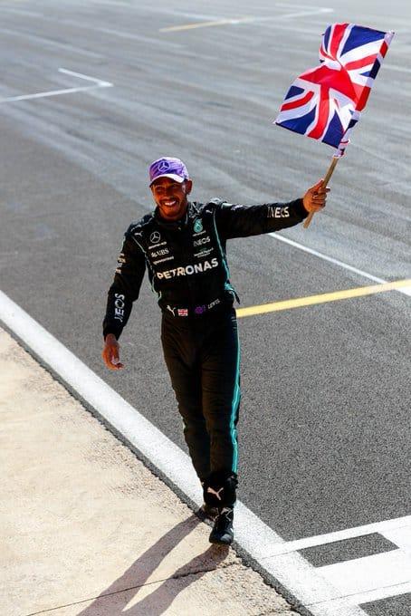 Lewis Hamilton via Twitter