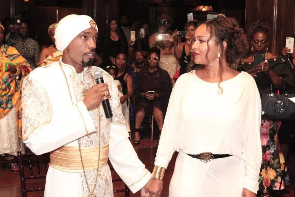 LisaRaye Ghana - King YAHWEH introducing LisaRaye as a Queen Mother (1)