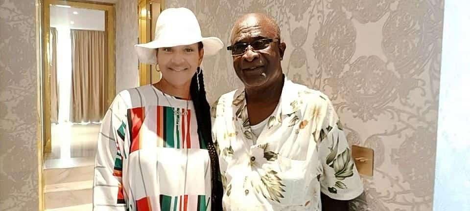 LisaRaye Ghana - LisaRaye and Chief
