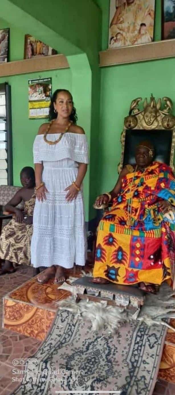 LisaRaye Ghana - LisaRaye and The Paramount Chief