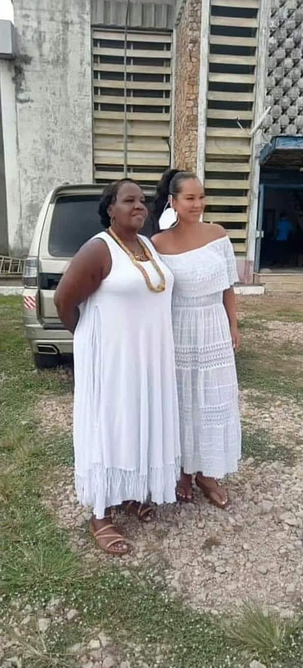 LisaRaye Ghana - LisaRaye with Queen Mother Yahweh