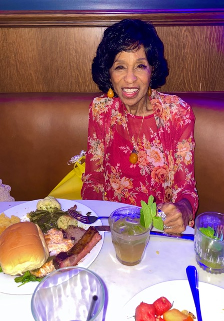 Marla Gibbs (lunch) - IMG_5793 3