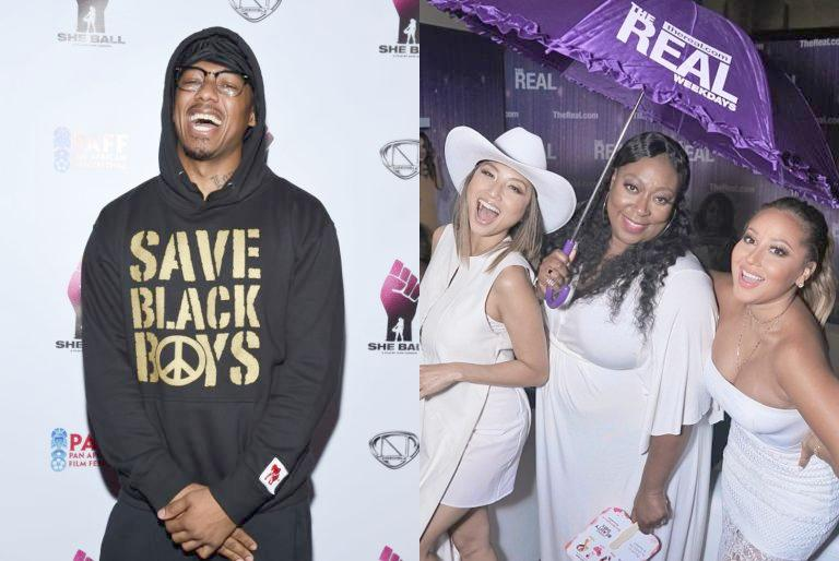 Nick Cannon - The Real hosts (Getty)