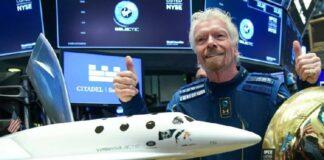 Richard Branson & Virgin Galactic (Getty)