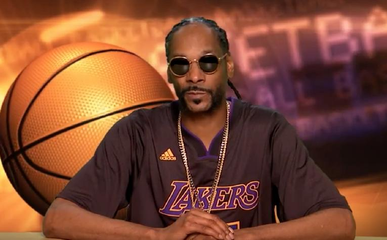Snoop Dogg (basket - ABC-TV)