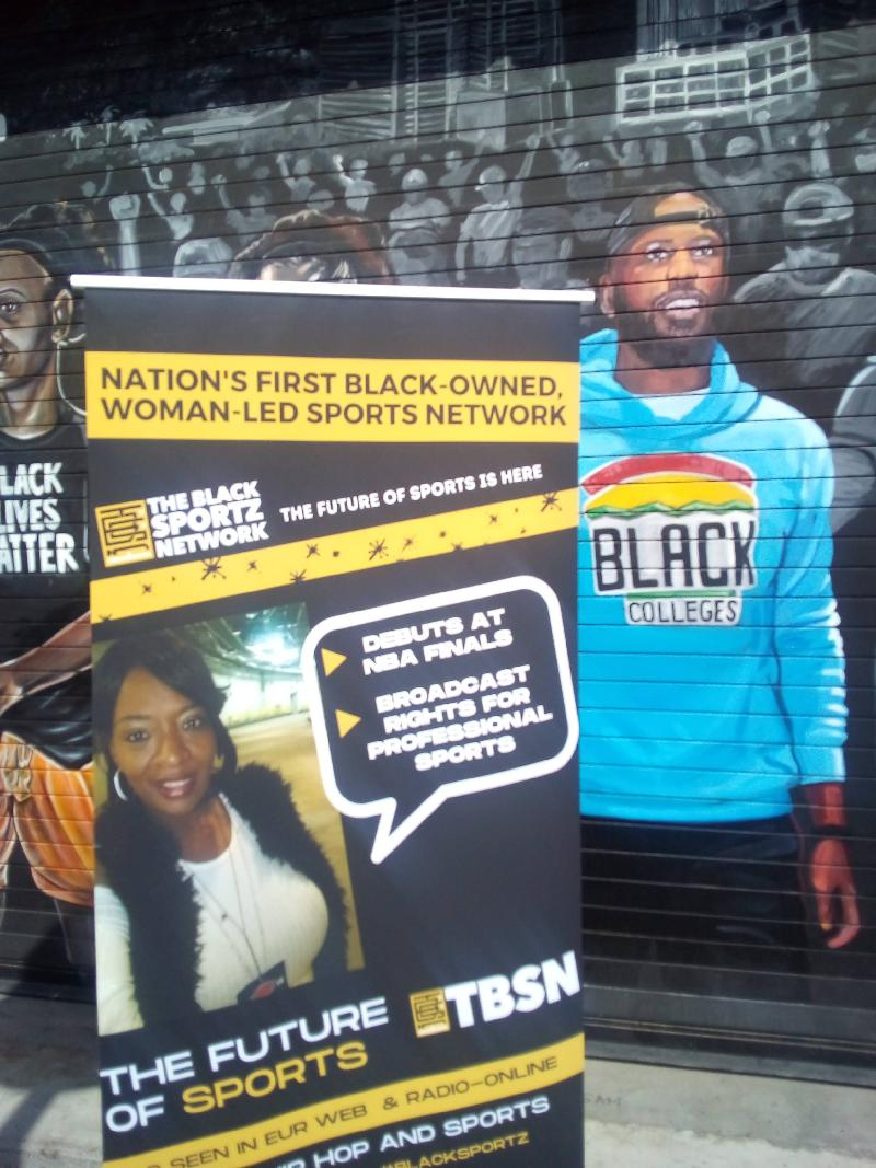 TBSN Launches at NBA Finals 2021