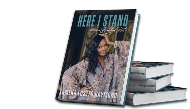Tameka Foster Raymond - Here I Stand cover
