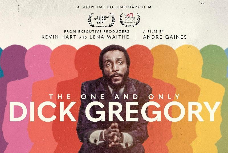 The One and Only Dick Gregory - cover