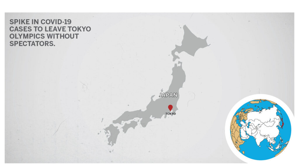 Map of Tokyo Japan