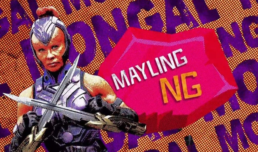 THE SUICIDE SQUAD, MAYLING NG