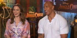 Jungle Cruise, Emily Blunt, Dwayne Johnson