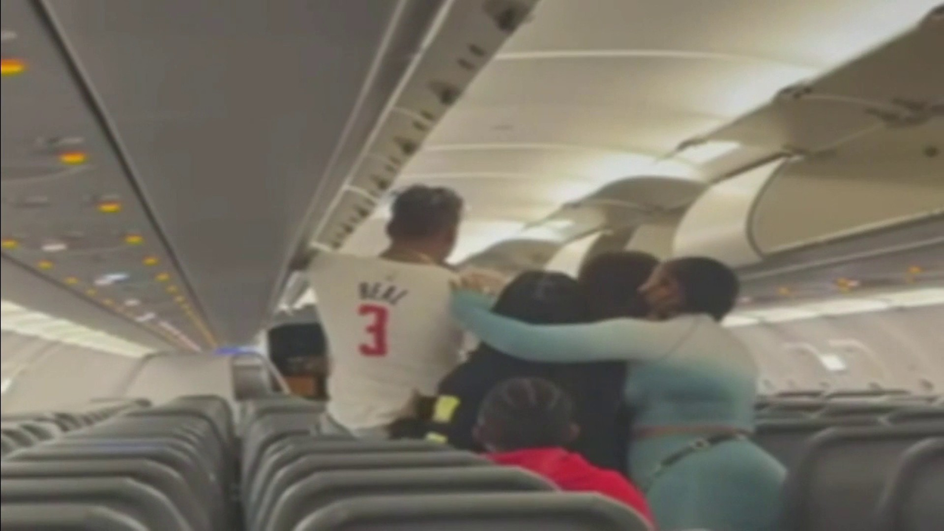 frontier airlines brawl