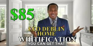 Introducing Leo Deblin's Home Whitification