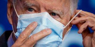 Joe Biden wearing mask - Getty