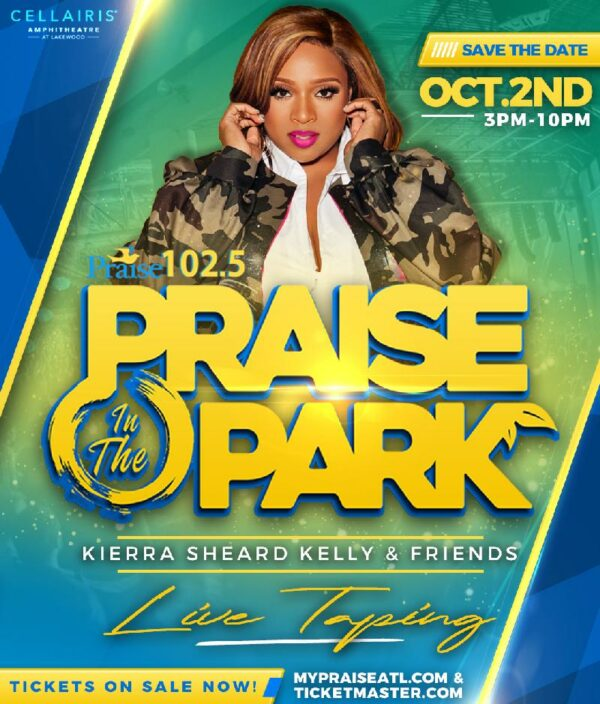 """Praise 102.5's """"Praise in the Park Atlanta"""" Which Has Featured CeCe Winans, BeBe Winans, Mary Mary and Others Returns October 2"""