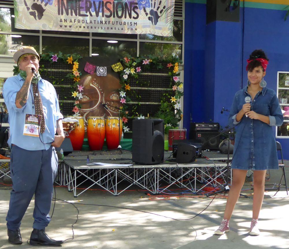 Richard Montoya and Xochitl