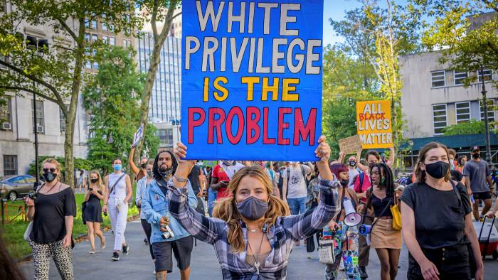 White Privilege is the problem (Getty)