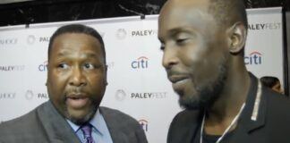 Wendell Pierce and Michael K. Williams