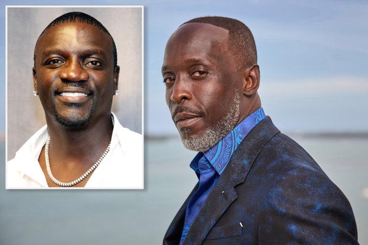Akon & Michael K Williams (Getty)