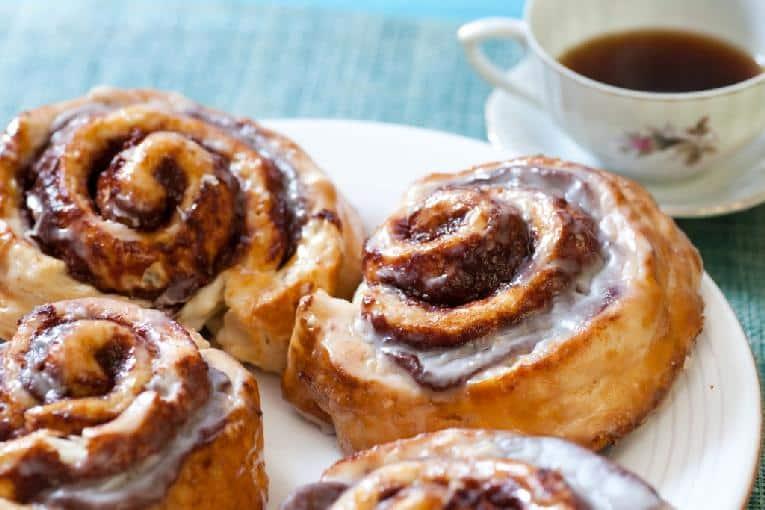 Cinnamon rolls & coffe - Getty