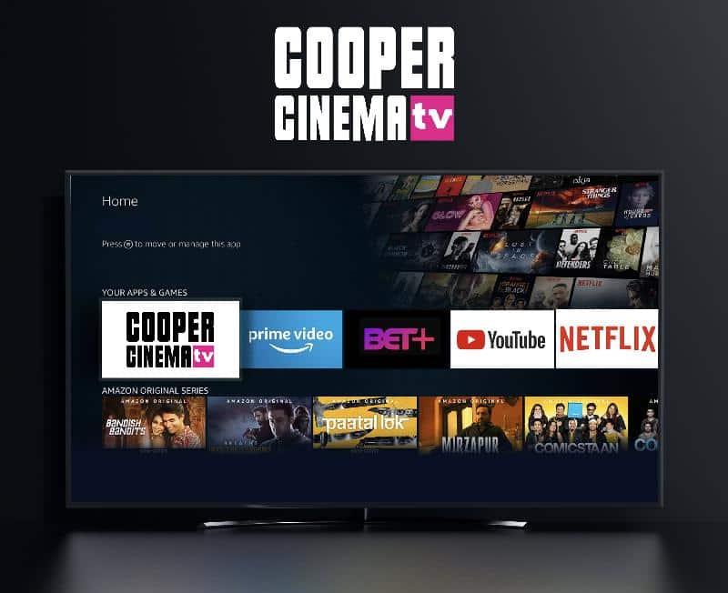Cooper Cinema tv