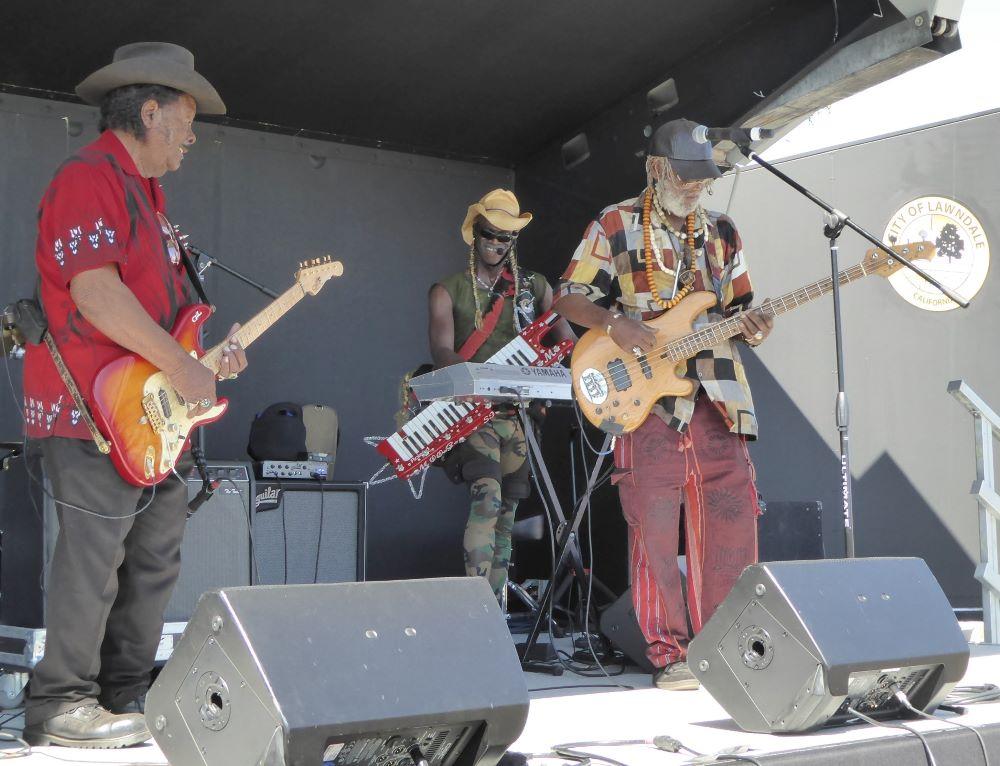Guitar shorty, Moogstar Clemon and Wadada