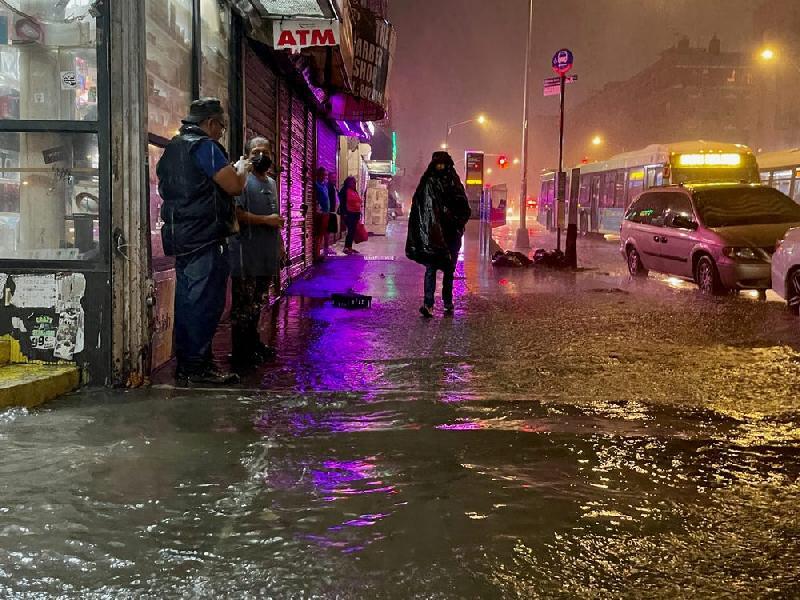 Hurricane Idsa (The Bronx) - Getty