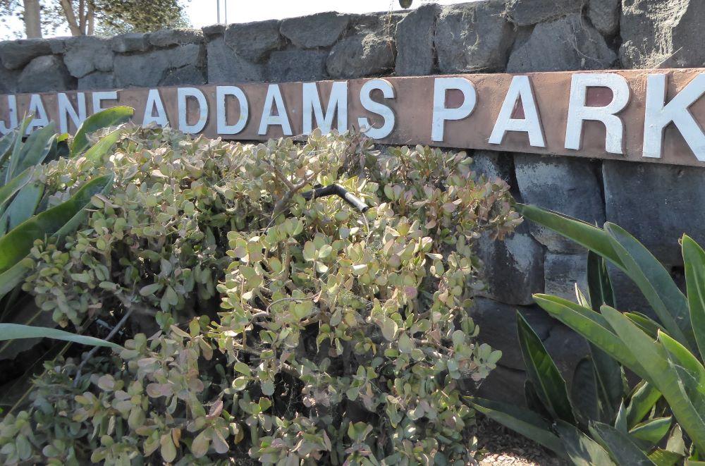 Jane Addams Park Signage