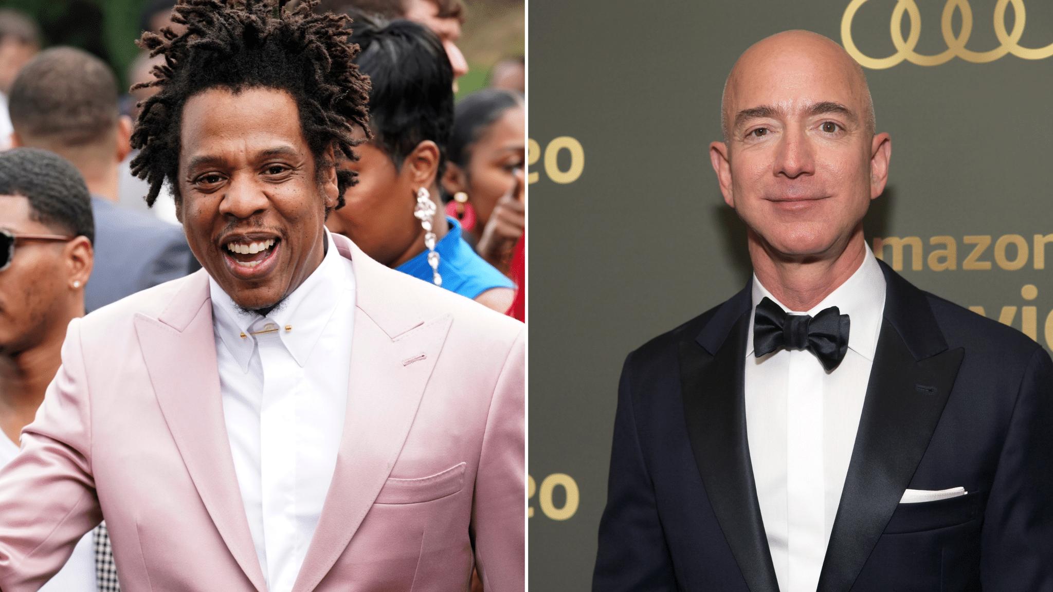Jay-Z - Jeff Bezos