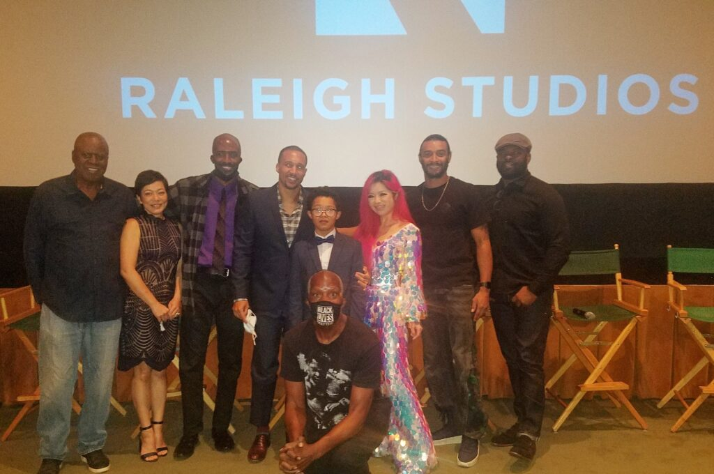 John Forbes Larry Ulrich and cast of Im Not Special Sept 15 2021