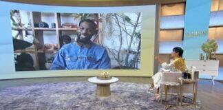 Kofi Siriboe on Tamron