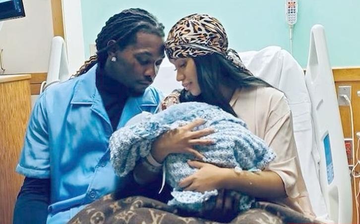 Offset Cardi B and Baby #2 (Instagram)