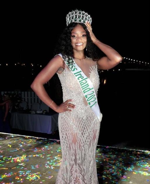 Pamela Uba is Miss Ireland / Instagram