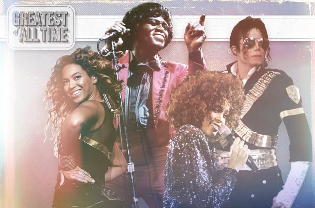 R&B legends - Getty