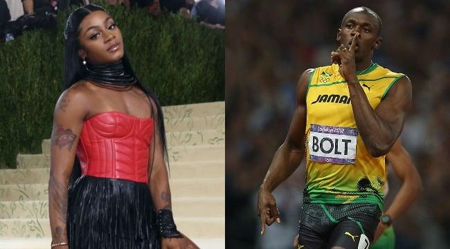 Sha'Carri Richardson - Usain Bolt (Getty composite)-