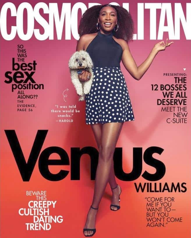 Venus Williams (2021 Cosmopolitan cover)