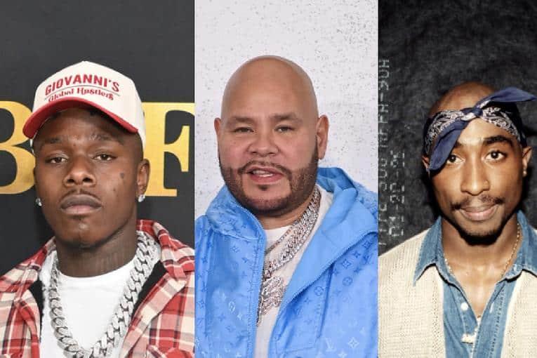 DaBaby Fat Joe Tupac (Getty)