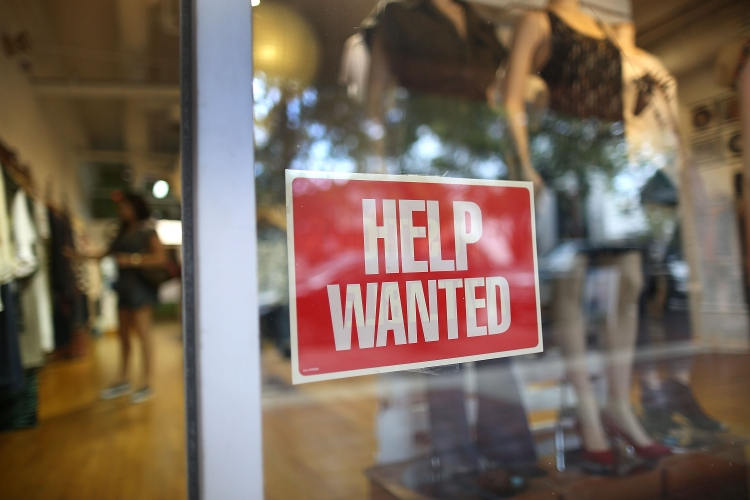 Jobs - Help Wanted sign Gettyimages - 486482284