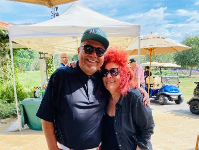 George Lopez and 'Gratitude Lounge' Producer Doris Bergman